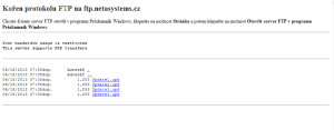 Obsah serveru s aktualizacemi - Microsoft Internet Explorer